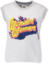 Paul & Joe Sister WONDER WOMEN Tshirt con stampa gris