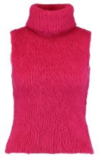 Topshop BOUTIQUE FLUFFY ROLL KNIT Maglione bright pink