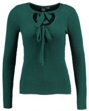 Lost Ink Maglione dark green