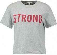 Miss Selfridge STRONG TEE Tshirt con stampa grey