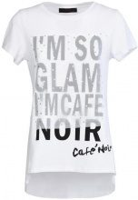 Top Caf? Noir  MJT069 T SHIRT GLAM