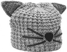 KARL LAGERFELD CHOUPETTE BEANIE Berretto light grey