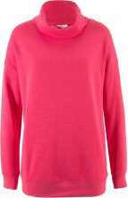 Felpa oversize a collo alto (Fucsia) - bpc bonprix collection