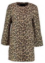 Banana Republic LEOPARD STATEMENT COAT Cappotto corto brown