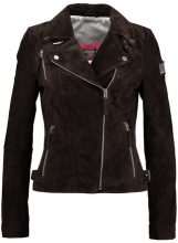 Freaky Nation BIKER PRINCESS Giacca di pelle dark brown