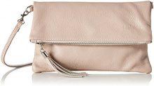 Bags4Less Luna - Pochette da giorno Donna, Pink (Nude), 2x18x28 cm (B x H T)