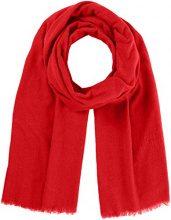 Marc O'Polo 700825502495, Sciarpa Donna, Rot (Glaring Red 319), Taglia unica