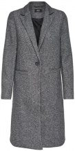 ONLY ONLALLY LONG Cappotto classico dark grey melange
