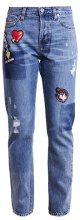 Love Moschino Jeans baggy blue denim