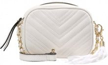 Miss Selfridge QUILT X BODY Borsa a tracolla white