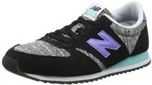 New Balance WL420KIC-420, Scarpe Running Donna, Multicolore (Black/Poolside 913), 37.5 EU