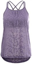 PrAna MIKA STRAPPY  Top purple puzzled