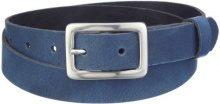MGM - Cintura, donna 2,5 cm di larghezza Blu (Blau) 90 cm