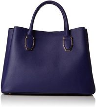 New Look Lilo Soft - Borse a mano Donna, Blue (Mid Blue), 17.5x25x25 cm (W x H L)