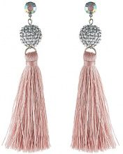 Missguided SHAM AND TASSEL Orecchini pink