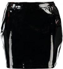 Fashion Union Petite ANGUS SKIRT Minigonna black