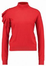NAKD TURTLE NECK FRILL Maglione red