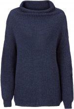 Pullover oversize a collo alto (Blu) - RAINBOW