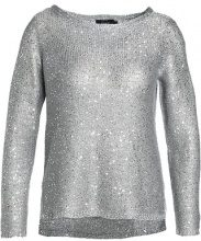 ONLY ONLADELE SEQUINS Maglione medium grey melange