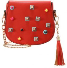 sweet deluxe Borsa a tracolla rot multi