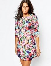 Glamorous - Vestitino con stampa floreale digitale