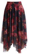 New Look REECE BLOOM HANKY  Gonna a campana black pattern
