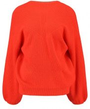 Vero Moda VMDARCEL SVEA BALLOON Maglione spicy orange