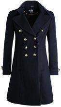 Wallis MILITARY BUTTON Cappotto classico navy