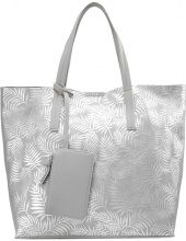 New Look Shopping bag silver