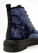 Calvin Klein Jeans ANNIE Stivaletti con plateau blue