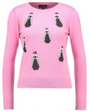 Topshop ALL OVER PENGUIN JUMPER Maglione pink