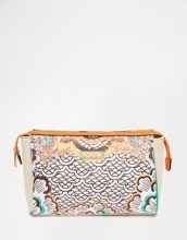 River Island - Beauty-case con stampa rétro