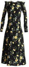 Dorothy Perkins Tall FLORAL MIDI Vestito lungo black