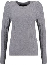 Vero Moda VMPINJA  Maglione medium grey melange