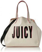 Juicy by Couture Arlington - Borse Tote Donna, White (White Print), 22x33x34 cm (W x H L)