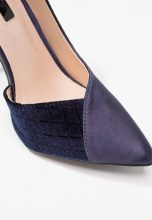 Lost Ink AMIE SWEETHEART CUT COURT SHOE Decolleté dark blue