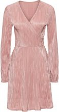 Abito in jersey plissettato lucido (rosa) - BODYFLIRT