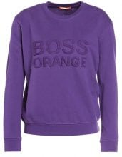 BOSS Orange TALOGO Felpa dark purple