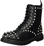 Buffalo Shoes 334619 Leather Pu, Stivali Donna, Nero (Black 01), 40 EU