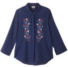 Camicia collo polo, camicia tinta unita, maniche lunghe
