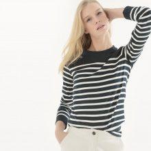 T-shirt alla marinara, maniche lunghe