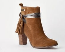 Boots pelle Ares