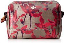Oilily Jolly Washbag Mhz 1 - Pochette da giorno Donna, Rot (Dark Red), 6x16x23 cm (B x H T)