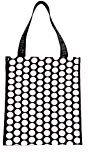 ROLSER Shopping Bag Luna, Borsa a mano uomo Multicolore Nero/Bianco