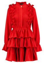 Sister Jane CERISE RUFFLE DRESS Vestito red
