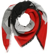 ONLY ONLNANOK WEAVED BLOCK Foulard black
