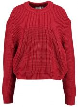 Weekday HUGE CROPPED Maglione bright red