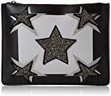 Juicy by Couture Monterey - Pochette da giorno Donna, Black (Black Star), 2.5x20x27 cm (W x H L)