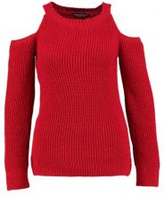 Dorothy Perkins COLD SHOULDER JUMPER Maglione red