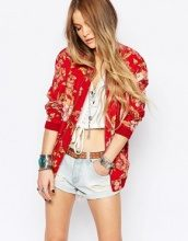 Denim & Supply By Ralph Lauren - Bomber a fiori